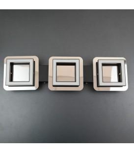 Потолочный светильник HOROZ 2*5W 4000K хром