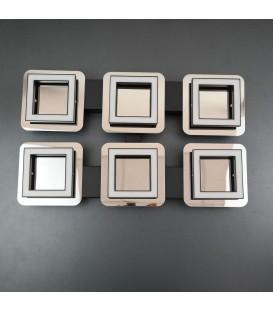 Потолочный светильник HOROZ 6*5W 4000K хром