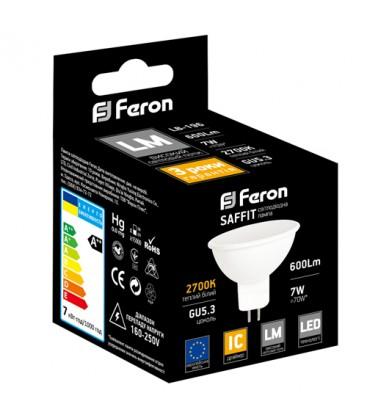 Светодиодная лампа Feron LB-96 (7W, 4000K, G5.3)
