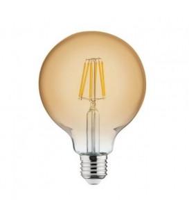 Светодиодная лампа Horoz RUSTIC GLOBE 6W Filament led 2200К E27