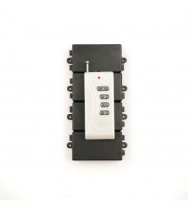 Дистанционный выключатель 220V 10A + пульт ДУ на 4 канала до 1000 м
