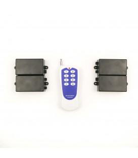 Дистанционный выключатель 220V 10A + пульт ДУ на 8 каналов до 500м