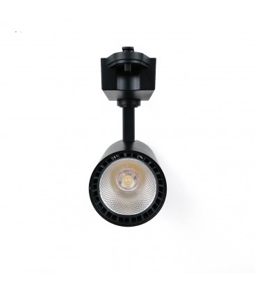 Трековый светильник Feron AL102 COB 12W 4000K черный/белый