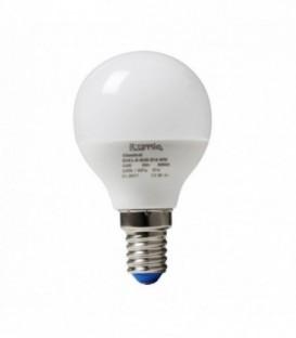 Лампа светодиодная ilumia 5Вт, Е14 3000К Шарик