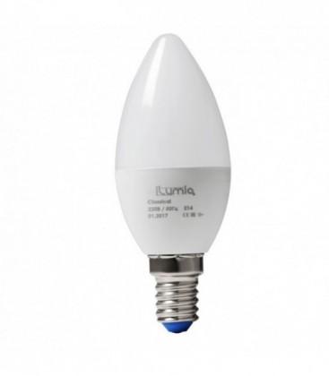Лампа LED ilumia 5Вт, Е14 3000К Свеча