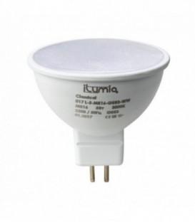 Лампа светодиодная ilumia 5Вт, GU5.3, 3000К