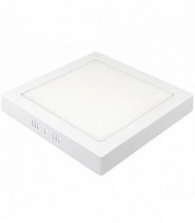 Светильник LED квадат накладной ilumia 18Вт, 220мм, 4000К