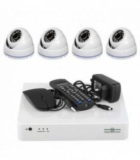 Комплект видеонаблюдения Green Vision GV-K-L09/04 1080P