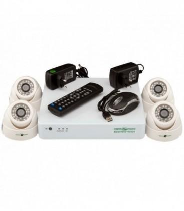 Комплект видеонаблюдения Green Vision GV-K-G01/04 720Р