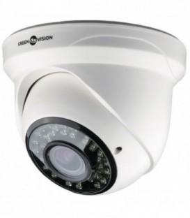 AHD Купольная камера Green Vision GV-033-AHD-H-DIS13V-30 960р