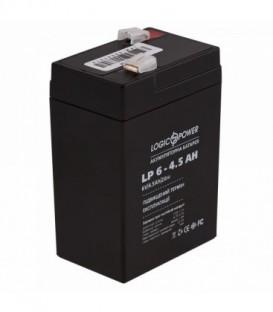 Аккумулятор LogicPower AGM LPM 6-4.5 AH