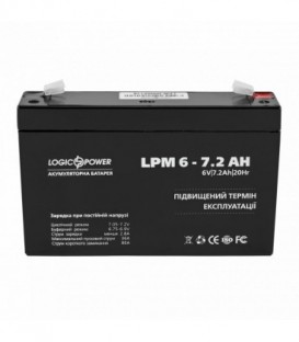Аккумулятор LogicPower AGM LP 6-7.2 AH