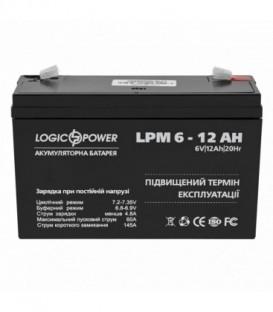 Аккумулятор LogicPower AGM LPM 6-12 AH