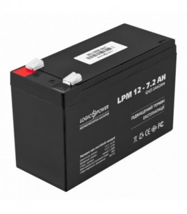 Аккумулятор LogicPower AGM LPM 12 - 7,2 AH