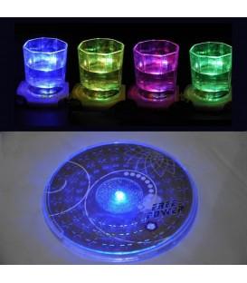 Светодиодная подсветка для стеклянной посуды RGB (на батарейках)