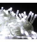 Гирлянда прозрачная 200LED белый цвет свечения