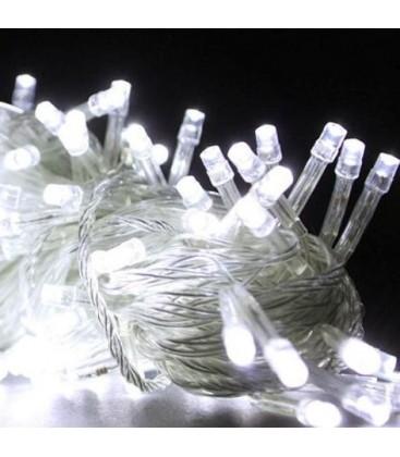 Гирлянда прозрачная 300LED белый цвет свечения