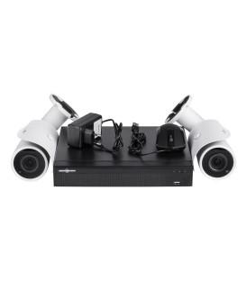 Комплект видеонаблюдения GREEN VISION GV-IP-K-L18/02 1080P