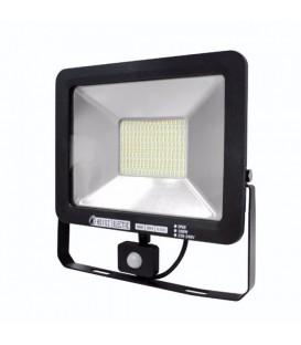 Светодиодный прожектор Horoz Pars 100W 6500K с датчиком движения