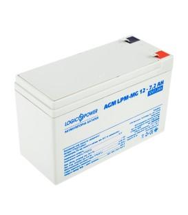 Аккумулятор LogicPower AGM LPM-MG 12 - 7,2 AH
