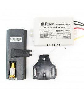 Дистанционный выключатель Feron TM75 на 2 канала