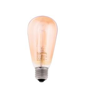 Светодиодная филаментная лампа Ilumia 6Вт, цоколь Е27, 2300К (теплый белый), 600Лм (085)