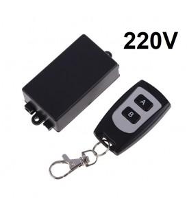 Радиореле Inted 1 канал + пульт -220V дистанционный выключатель