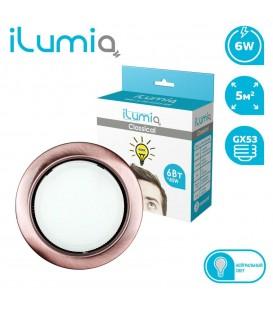 Светильник LED ilumia под лампу GX53, 90мм Античная медь