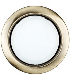 Светильник LED ilumia под лампу GX53, 90мм Состаренная латунь