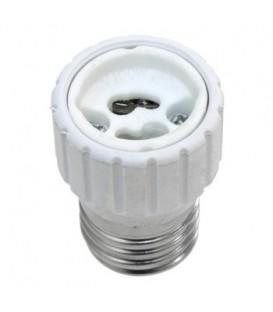 СВЕЧА на подставке LED 1 шт 16,5 см пластик