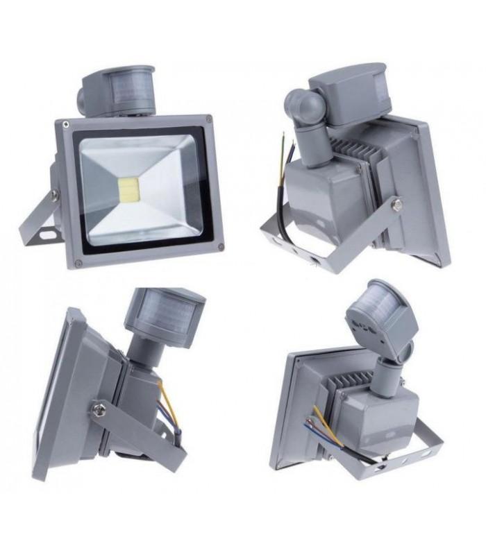 Светодиодный прожектор LED-Tec 30W с датчиком движения