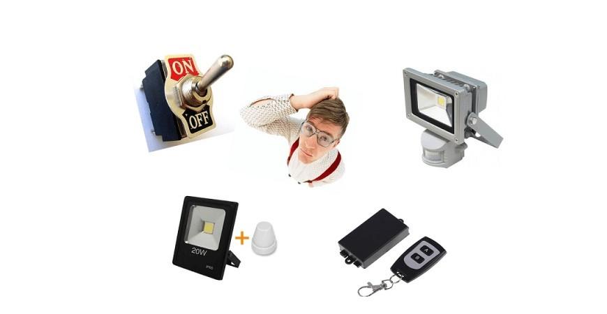 4 способа эффективной работы светодиодного прожектора
