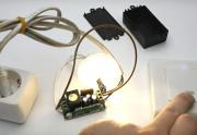 Подключение лампочки к выключателю